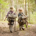 Wanderrucksack für Kinder