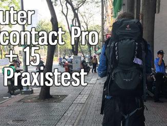 Deuter Aircontact Pro 60 + 15 im Praxistest